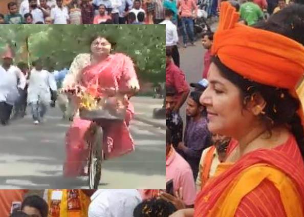 politicians activity during loksabha election 2019, चुनाव प्रचार में क्या-क्या कर गए ये नेता!