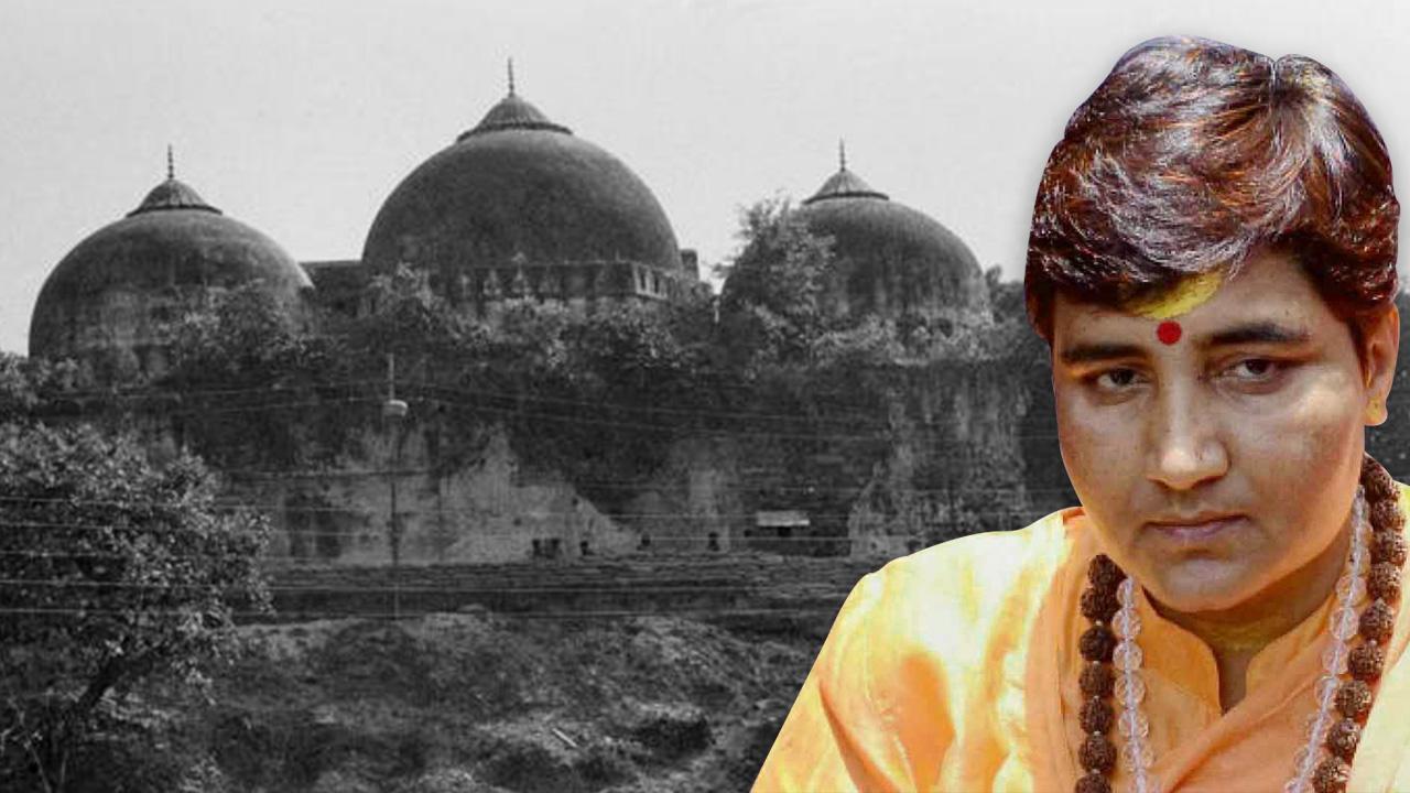 pragya thakur, प्रज्ञा ठाकुर के बाबरी तोड़ने के दावे पर उठा सवाल, क्या तब उम्र थी बस 4 साल?