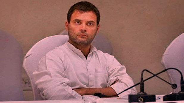 Rahul Gandhi's Resignation, VIDEO: राहुल गांधी का इस्तीफा संघ की साजिश! आमरण अनशन पर बैठा कांग्रेस नेता