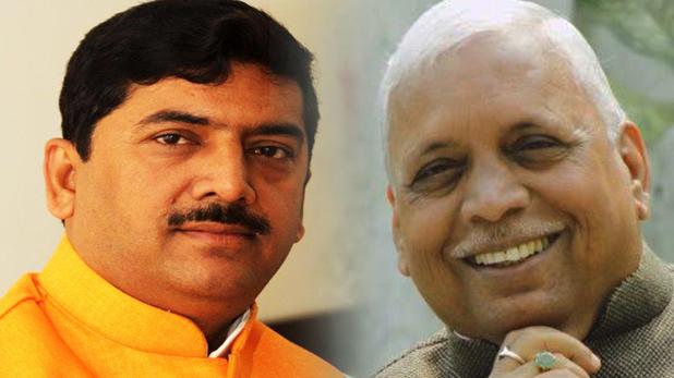 सांसद शरद त्रिपाठी, BJP ने जूता मार सांसद का काटा टिकट, पिता पर खेला दांव