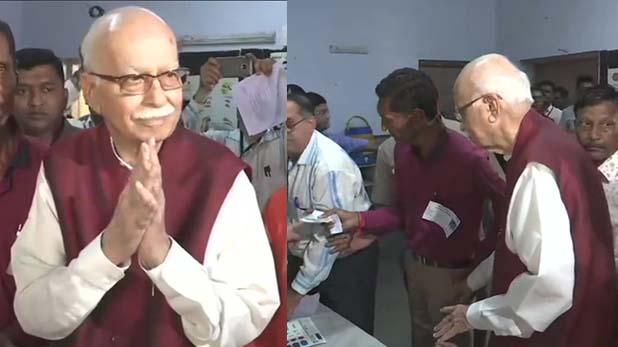 , आजाद भारत के हर चुनाव में शामिल रहे आडवाणी ने पहली बार आम नागरिक की तरह डाला वोट