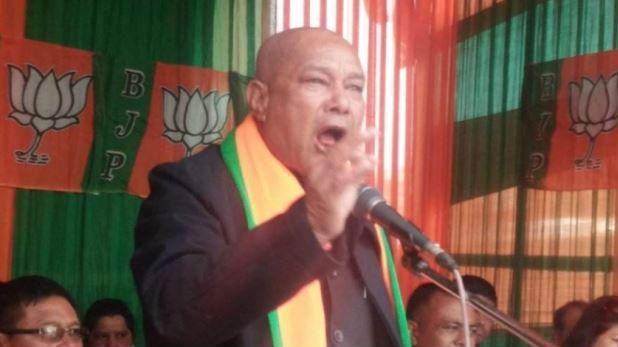 शिलांग, BJP प्रत्याशी ने कहा अगर मोदी जी का वादा पूरा हुआ तो कर लूंगा आत्महत्या