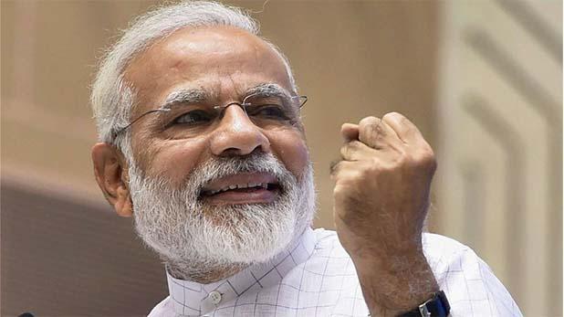 नरेंद्र मोदी, 'आपके परिवार को शुक्रिया' नरेंद्र मोदी ने PMO स्टाफ को किया संबोधित