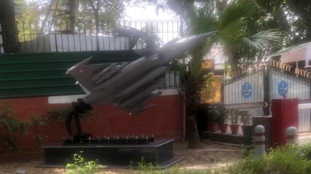 एयर चीफ मार्शल, एयर चीफ मार्शल के घर तैनात हुआ 'राफेल', ठीक बगल में है कांग्रेस का मुख्यालय