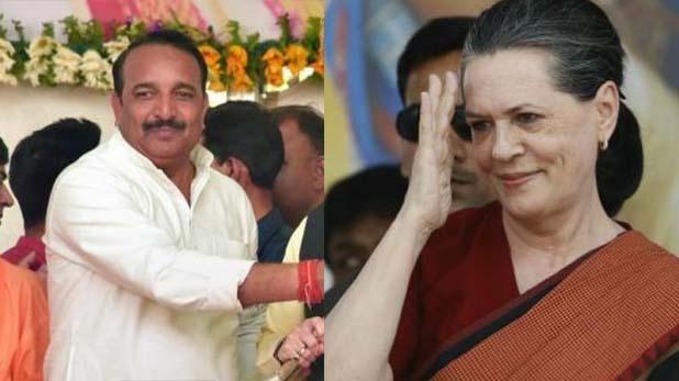 Raebareli, रायबरेली बचाने में कामयाब रहीं सोनिया गांधी, एक लाख से ज्यादा वोटों के अंतर से जीतीं