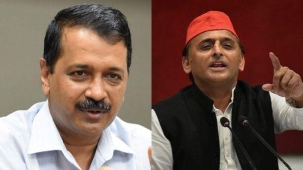 lok sabha election 2019, AAP और समाजवादी पार्टी के बीच पक रही है चुनाव बाद होने वाले गठबंधन की खिचड़ी!