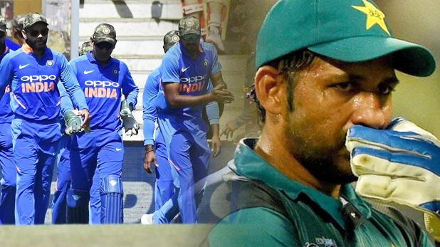 पाकिस्तान टीम, पुलवामा शहीदों के सम्मान में भारतीय टीम ने पहनी थी आर्मी कैप, अब पाक टीम करने जा रही थी ये हरकत!