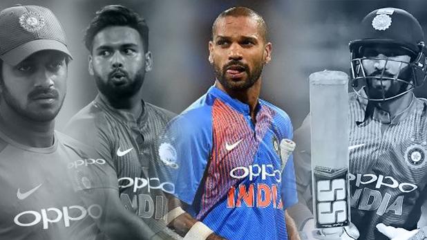 indian cricket team, team india, shikhar dhawan, shikhar dhawan injury, vijay shankar, dinesh karthik, rishabh pant
