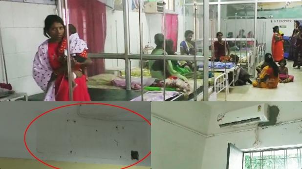 गर्मी, गर्मी से बेहाल थे कुपोषित बच्चे, कलेक्टर ने ऑफिस से AC निकलवा कर अस्पताल में लगवा दिए
