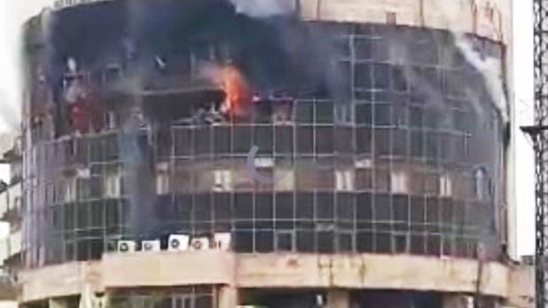 A fire DGHS Karkardooma, VIDEO: दिल्ली की स्वास्थ्य महानिदेशालय बिल्डिंग में भीषण आग, अहम कागजात खाक