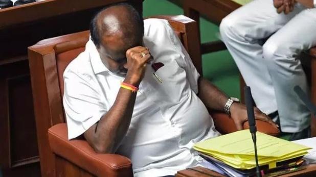Karnataka Crisis, कर्नाटक: विश्वास प्रस्ताव पर अब तक मतदान नहीं, विधानसभा की कार्यवाही सोमवार तक स्थगित