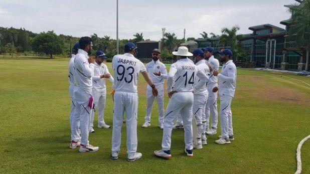 वेस्टइंडीज, IND vs WI Day 1: बारिश की वजह से रुका खेल, 6 विकेट के बाद जडेजा-पंत क्रीज पर