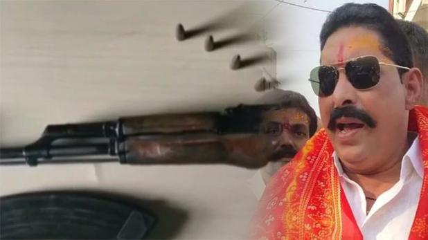 Anant Singh, छापे में घर से मिली AK-47, अनंत सिंह बोले- जदयू सांसद ललन सिंह के इशारे पर हो रही कार्रवाई