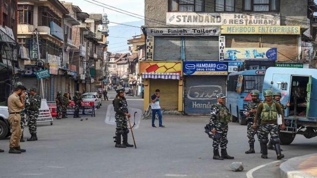 jammu kashmir live updates, कश्मीर घाटी में लैंडलाइन और जम्मू में 2जी इंटरनेट सेवा शुरू