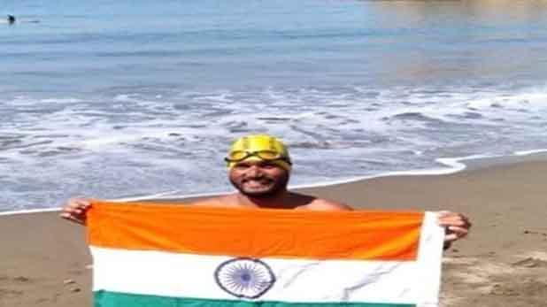 Satyendra Singh, मध्यप्रदेश के लाल सत्येंद्र ने किया कमाल, कैटलीना चैनल पार कर बनाया रिकॉर्ड