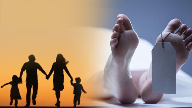 Ghaziabad Family Suicide, गाजियाबाद : सो रहे बच्चों का गला घोंटा, फिर 8वीं मंजिल से कूद पति-पत्नी और महिला