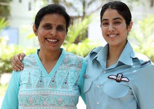 jhanvi kapoor, करगिल गर्ल का किरदार निभाएंगी जाहन्वी कपूर, गुंजन सक्सेना का फर्स्ट लुक जारी; जानिए कौन है ये?