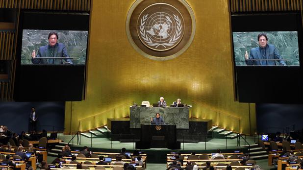 Imran Khan, इस्लाम, मुसलमान और जेहाद का उन्माद, लादेन के वंशज की तरह UN में बोले इमरान