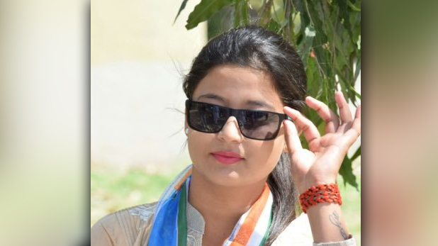 Karishma Thakur, Congress Youngest candidate