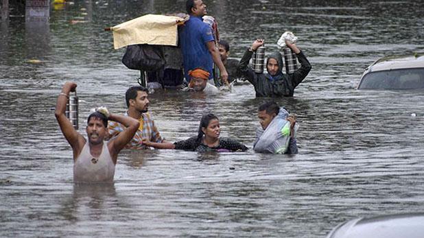 flood like situation in Bihar