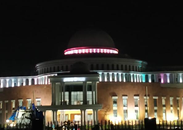 झारखंड विधानसभा भवन, यहां है देश का सबसे ऊंचा गुंबद, देखें 19 साल बाद झारखंड को मिली विधानसभा की Photos
