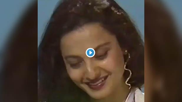 Rekha, दिन बना देगा रेखा का ये वीडियो, 1986 में गाया था, मुझे तुम नजर से गिरा तो रहे हो…