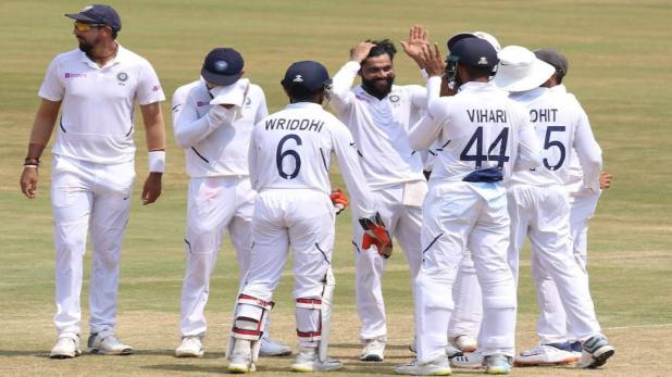 India wins 1st test agaainst sa