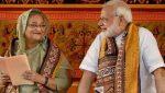 PM Modi-sheikhhasina