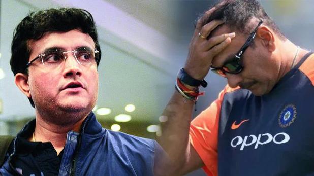 गांगुली, पत्रकार ने गांगुली से पूछा, 'रवि शास्त्री से बात की क्या,' जवाब मिला 'अब उन्होंने ऐसा क्या कर दिया'
