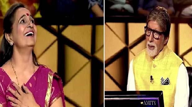 KBC 11 Amitabh Bachchan, KBC 11: कंटेस्टेंट ने अमिताभ से पूछा, 'आपको यंग रखने के लिए क्या करती हैं जया बच्चन'
