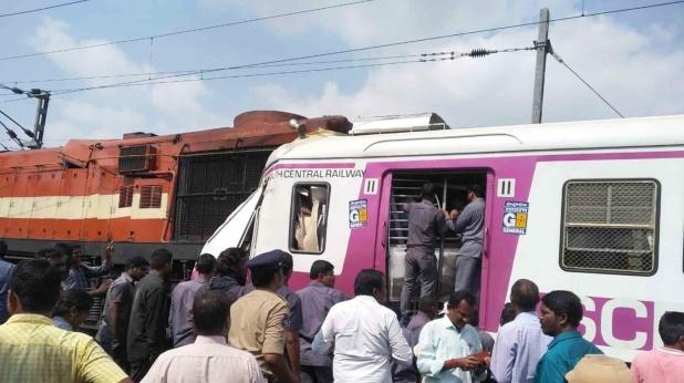 twelve passengers injured in two trains, हैदराबाद ट्रेन एक्सीडेंट का CCTV फुटेज आया सामने, देखिए कैसे आमने-सामने हुई ट्रेनों की टक्कर