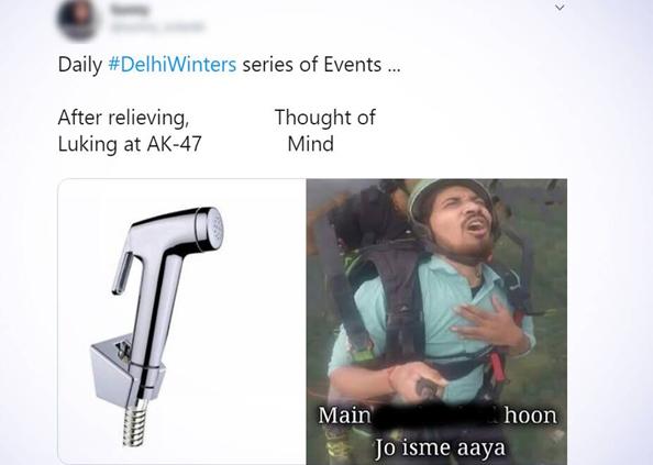 Delhi Winter Memes, कड़ाके की ठंड में हुआ बुरा हाल, पर Memes के मार्केट में बढ़ गई है गर्मी