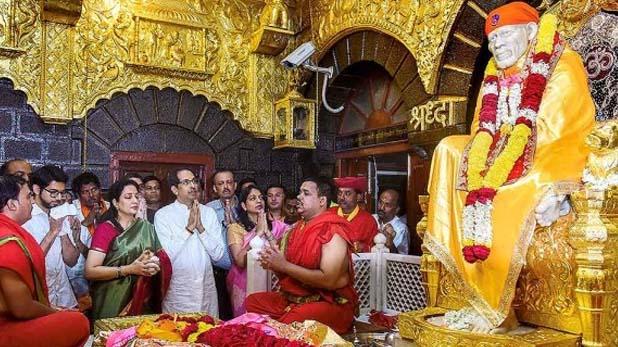 Shirdi Sai Baba Temple, जानें 2019 में शिरडी साईं बाबा को मिला कितना दान, न्यू ईयर के लिए बनाया है खास प्लान