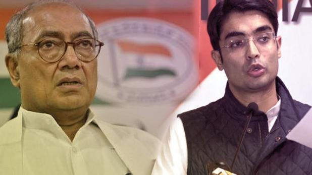 digvijay singh and Jaiveer Shergill on pulwama, पुलवामा हमले पर दिग्विजय ने उठाए सवाल, कांग्रेस प्रवक्ता बोले- BJP ने काटी वोट की फसल