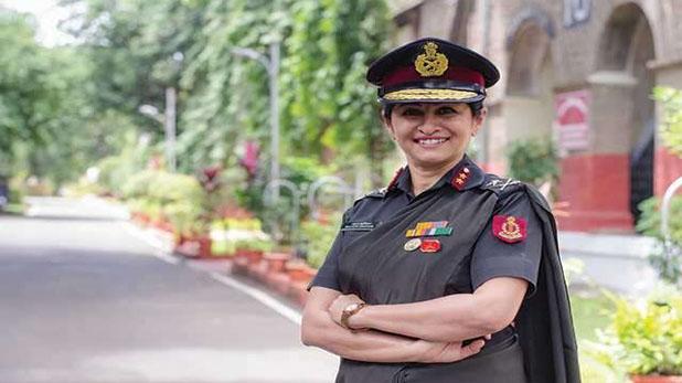 Major General Madhuri Kanitkar became Lieutenant General, मेजर जनरल माधुरी कानिटकर बनीं लेफ्टिनेंट जनरल रैंक पाने वाली देश की तीसरी महिला