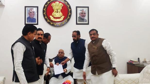 Shivraj Singh Chauhan, MP: राज्यपाल से मिले BJP नेता, बजट सत्र से पहले फ्लोर टेस्ट की रखी मांग