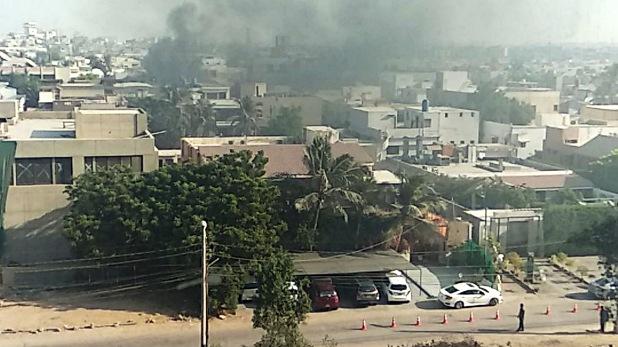 plant in Karachi Pakistan, पाकिस्तान: कराची की केमिकल फैक्ट्री से लीक हुई जहरीली गैस, 80 की हालत बिगड़ी