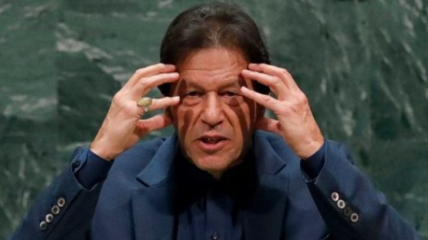 imran khan, अभिनंदन ने मिग-21 उड़ाया, इमरान का दिल घबराया, बोले- पहले नहीं करेंगे परमाणु हमला