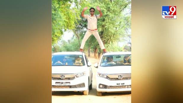fine slapped against SI Manoj Yadav, 'सिंघम' का म्यूजिक ट्रैक- 'फूल और कांटे' का स्टंट, Lockdown में SHO पर 5000 का फाइन