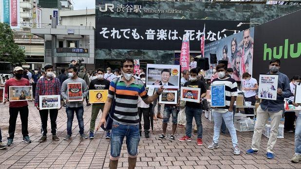 जापान, 60 सालों के सबसे खतरनाक तूफान का सामना करने को तैयार जापान, आसमान का रंग हुआ बैंगनी