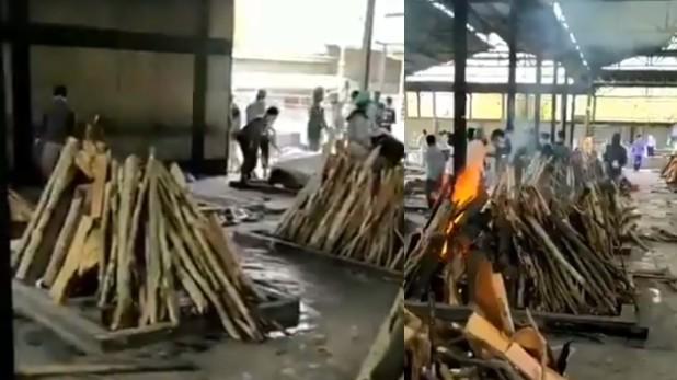 Punjabi Bagh crematorium viral video, पड़ताल: पंजाबी बाग के श्मशान घाट का Video हो रहा Viral, साउथ दिल्ली नगर निगम ने बताए शवों के आंकड़े