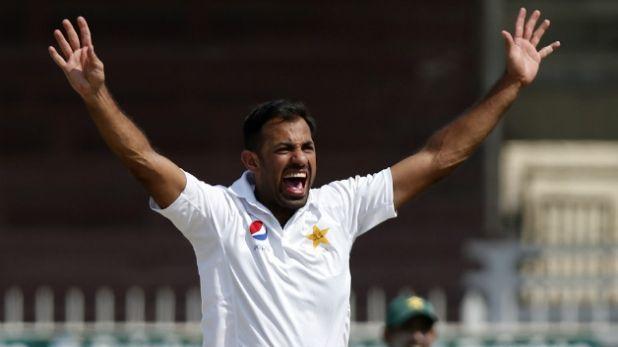 Pakistan fast bowler Wahab Riaz, इंग्लैंड के खिलाफ दस साल पुराना इतिहास याद कर रहे हैं पाकिस्तान के तेज गेंदबाज वहाब रियाज
