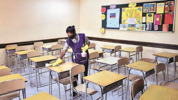 Union Health Ministry announced guidelines education schools Ashwini Kumar  Choubey Tweet- पैरेंट्स के 'हां' बोलने पर ही छात्र जा सकेंगे स्कूल,  केंद्रीय स्वास्थ्य मंत्रालय ने जारी ...