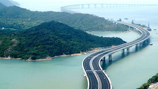 first river cross highway china, चीन में बनाया गया दुनिया का पहला रिवर क्रॉस हाईवे और रेलवे पुल