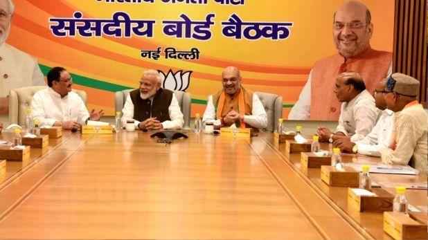 BJP vacant seats of Parliamentary Board, BJP की नई राष्ट्रीय टीम तैयार, पार्लियामेंट्री बोर्ड की खाली 4 सीटों पर जल्द होगी नामों की घोषणा