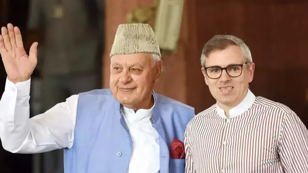 Jammu kashmir Article 370 Removal: farooq abdullah and omar abdullah