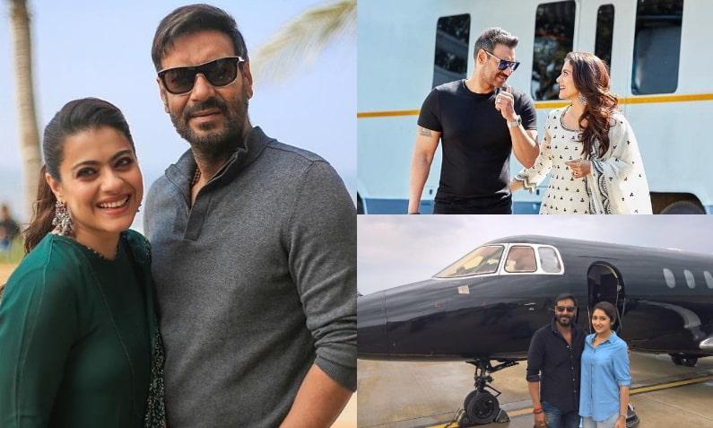 Ajay Devgn has a private jet worth 84 crores Expensive : अजय देवगन के पास  है 84 करोड़ का प्राइवेट जेट, रोल्स रॉयस समेत इन 5 नायाब चीजों का रखते हैं  शौक -