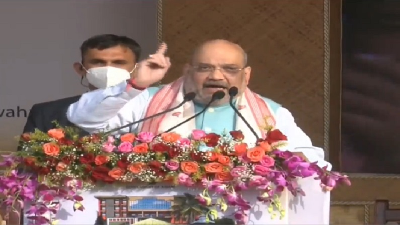 Those who took up arms joined the mainstream, Home Minister Amit Shah said in Assam