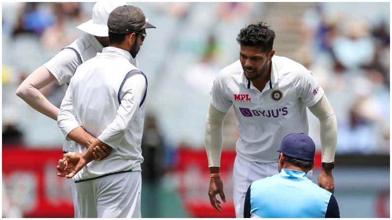 IND vs AUS: Team India's Pacer Umesh yadav is out of the Test series against Australia, will now be returning to India