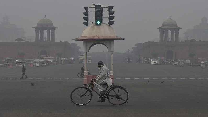 Delhi Fog